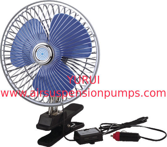 Metal Silver Electric Cooling Fans For Trucks 12V And 24V Electric Radiator Fan
