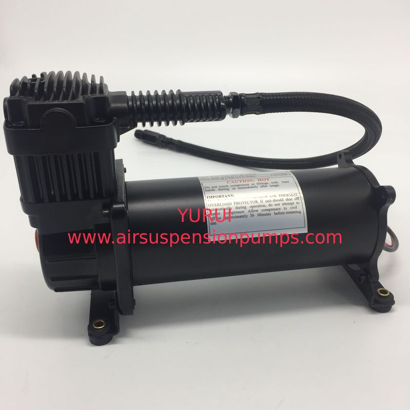 Compact Metal DC12V Air Suspension Pump for Off-road Truck , SUVs