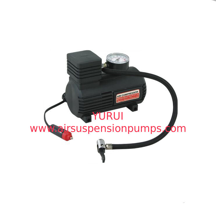 250psi Oem Car Air Compressor , 12v Mini Tyre Portable Tire Inflator