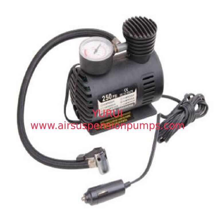 Shock Vehicle Air Compressors Dc 12v 250psi  With Cigarette Lighter Plug