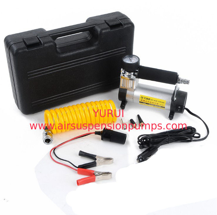 Hand High Pressure Metal Air Compressor 1 Year Warranty With Watch 12v 140 Psi