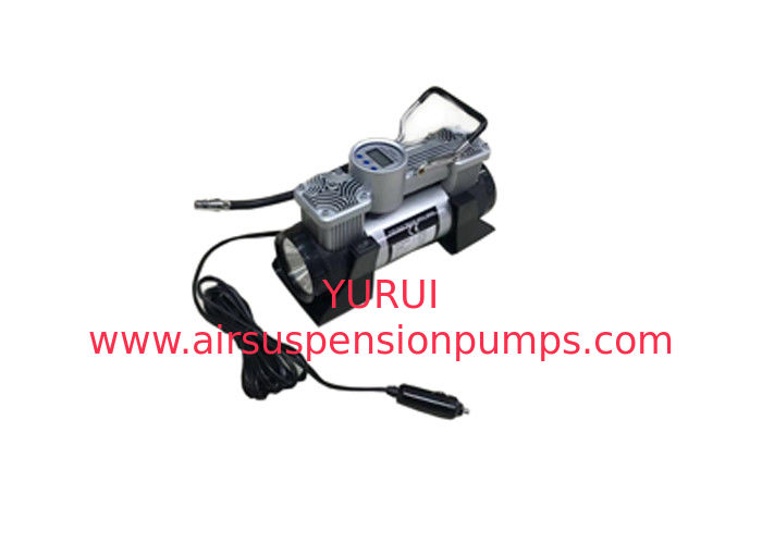 180w 150PSI Two Cylinder Air Compressor / Quiet Air Compressor Black Color
