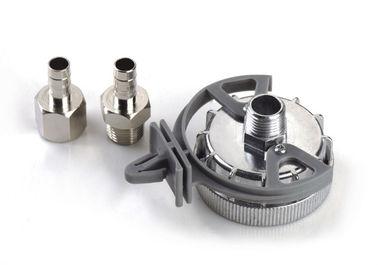 Asambleas remotas de filtro de aire de la entrada del metal impermeable con el empaquetado modificado para requisitos particulares